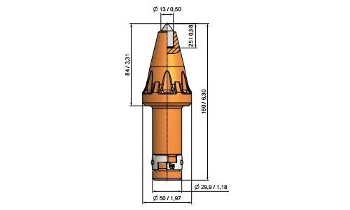 Długość chwytu 76mm